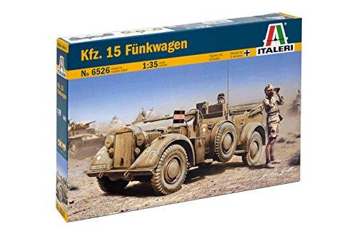 Carson 510006526-1 : 35 WWII deu SD Voiture 15 Chariot de véhicule sans Fil