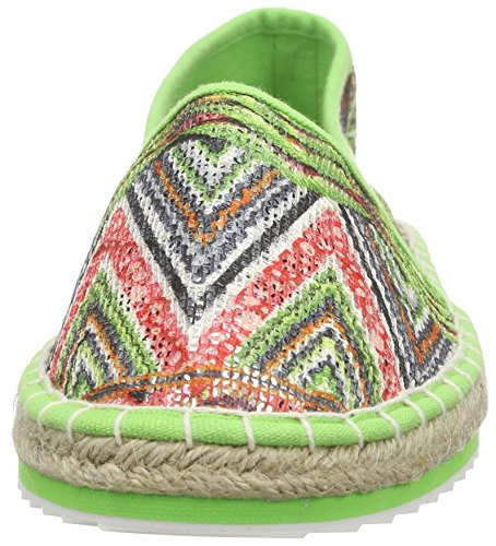 Marco Tozzi Damen 24203 Slipper Grün (APPLE COMB 769)