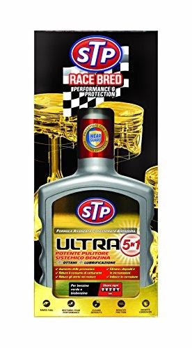 Stp, Trattamento Ultra 5 in 1 Benzina, Riduce gli Attriti nei Cilindri, Aumenta il Numero di Ottano, Incrementa le Prestazioni del Motore, 400 m