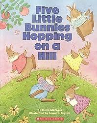 Five Little Bunnies Hopping on a Hill