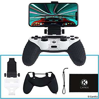 CamKix® Controller Phone Mount and Grip Skin Kit for PS4 …