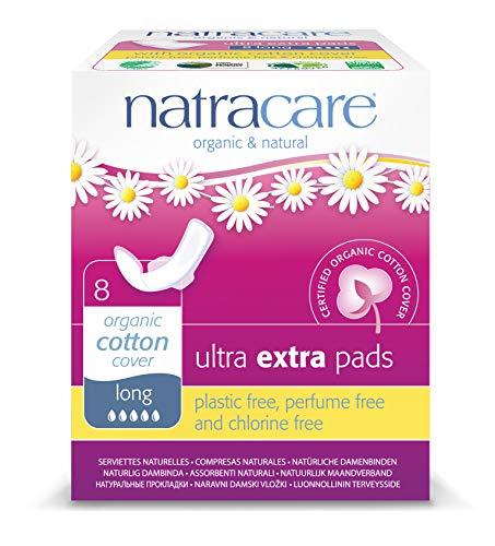 Natracare 540500 - Toallas Ultra alas largas extra