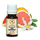 Grapefruit Öl 100 % naturreines ätherisches 10ml 0,33 oz, Reine & Natürliche Grapefruitöl -...