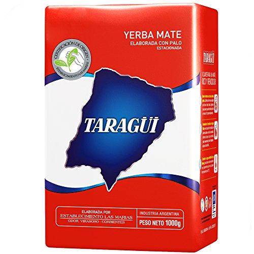 Yerba Mate Taragui Roja (With Stems)(1x1Kg)