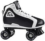 Fila Erwachsene Grant Roller Skate, Schwarz/Weiß, 41