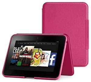 Amazon Kindle Fire HD Lederhülle (2. Generation - 2012 Modell), Fuchsia-Pink