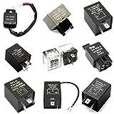 LED-Mafia Relais - Blinker Blinkerrelais Flasher 3P 4P 2P 12V CF18 GL-02 FLL050 QM (FLL050)