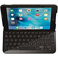 Logitech Funda con teclado para iPad Mini 4 QWERTY español, color negro
