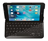Funda con teclado para iPad Mini 4 QWERTY español, color negro