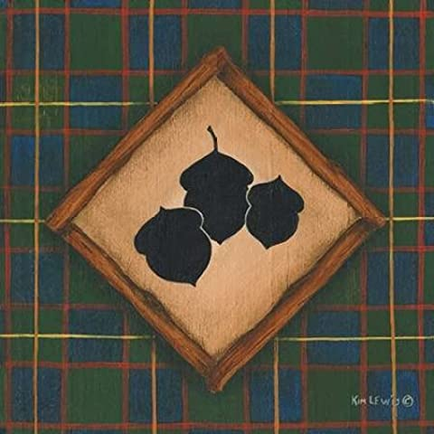 Impresión de Arte Fino en lienzo : Acorns by Lewis, Kim - Medio (33 x 33 Cms)