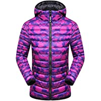 Hanomes Damen pullover, Frauen Winter Hoodie Camouflage verdickt Hut Abnehmbare Baumwolle Outwear Mantel preisvergleich bei billige-tabletten.eu