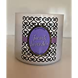 Bath and Body Works French Lavender Scented Candle 3 wick 14.5 oz