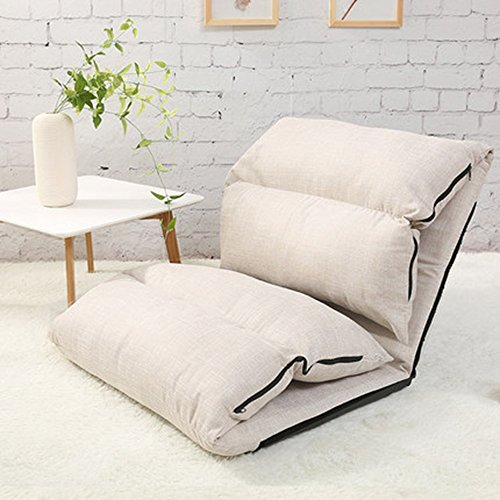 Poltrone mazhong lounge divano letto pieghevole regolabile landing chair sleeper lounger (a) (colore : 3)