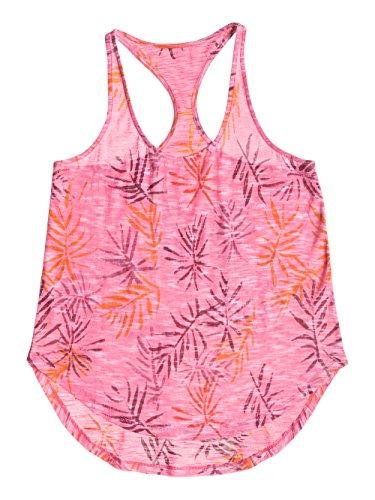 Roxy Damen Top, Balboa Rosa - Pink (Berry Palm Print)