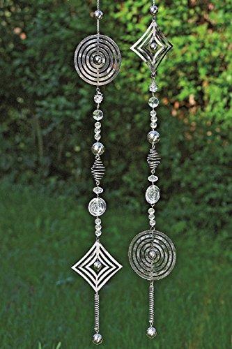 Girlande Windspiel Metall silber 1812-6024600