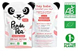 Panda Tea – Morning Boost – Bio-Tee – 28 Baumwollbeutel