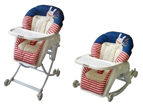 BabyCenterIndia 4 in 1 High Chair Made in Korea