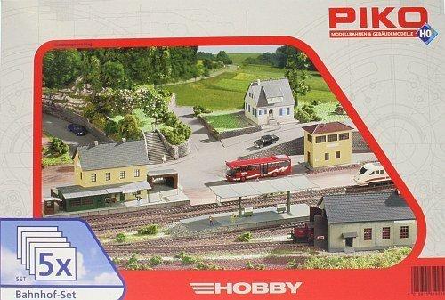 Gebraucht, Piko 61923 Bahnhof-Set gebraucht kaufen  Wird an jeden Ort in Deutschland