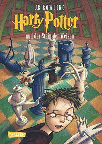 Buchcover Harry Potter und der Stein der Weisen