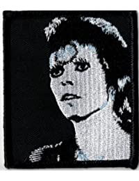 DAVID BOWIE Official Merchandise Product Iron-On-Patch New ZIGGY POSE HEAD
