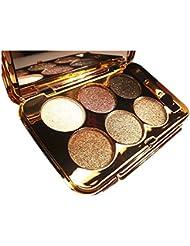 eyeshadow palette - SODIAL(R)women diamond bright colorful makeup eye shadow super make up set flash Glitter eyeshadow palette with brush 2#