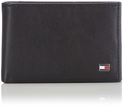 Tommy Hilfiger ETON AM0AM00671 Herren Geldbörsen 11x7x2 cm (B x H x T) Schwarz (BLACK 002)