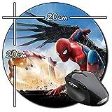 Spider-Man Homecoming Spiderman Tom Holland E Tapis De Souris Ronde Round Mousepad PC