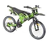 Kinderfahrrad Kawasaki Tensoi Motobike Cross 20 Zoll Gangschaltung Shimano 6 Gänge