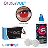 ColourVUE 14MM Crazy Lens Red Screen Col...
