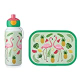 MEPAL Pop-up Trinkflasche und Brotdose lunchset-Campus-pubd-Tropical-Flamingo, abs, 0 mm, 2