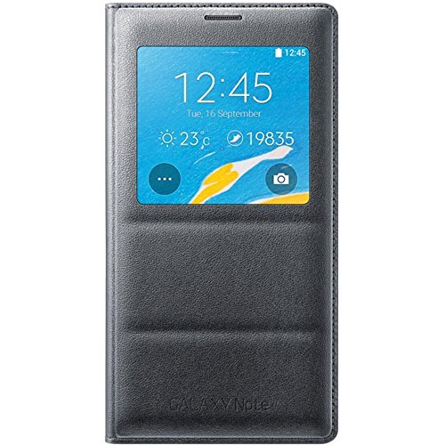 Samsung S View Cover - Funda para Samsung Galaxy Note 4, negro