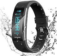 Pulsera de Actividad Inteligente Impermeable IP67, AGPTEK Reloj Deportivo con GPS Podómetro, Monitor de Ritmo,