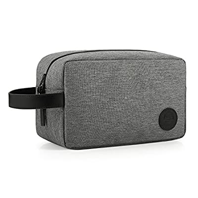 GAGAKU Waterproof Travel Toiletry Bag Wash Bag Quilted Dopp Kit