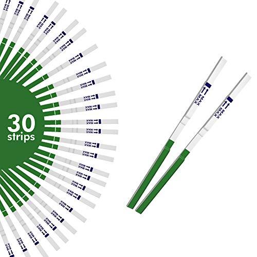 Ovaview Streichstreifen für Ovulation/Fruchtbarkeit, sehr empfindlich, 20 mlU/ml, 30 Stück (Fruchtbarkeit Test-kit)