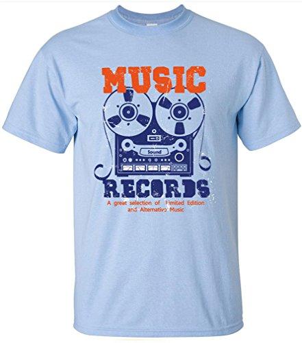 PAPAYANA - ALTERNATIVE-SOUND - Herren T-Shirt - MUSIC TAPE RECORD LP MC CD ROCK POP Himmelblau