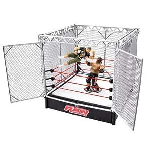 WWE- Spring Cage Ring