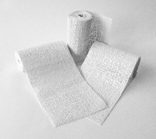 8-x-modroc-plaster-of-paris-modelling-craft-bandage-8cm-x-3m