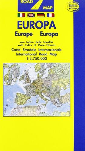 Europa 1:3.750.000 (Carte internazionali)