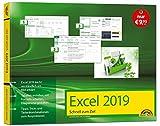 Excel 2019 Schnell zum Ziel. Alles auf einen Blick - Excel 2019 optimal nuten. Komplett in Farbe. Für Einstiger und Umsteiger im praktischen Querformat