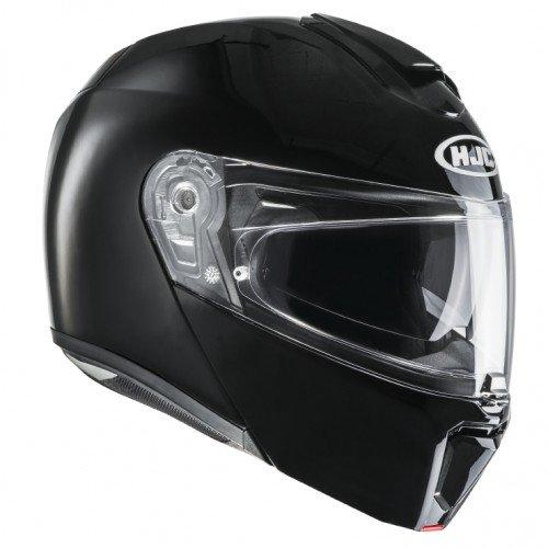 HJC Moto Casco Rpha 90semi Mat, Negro, Tamaño XS