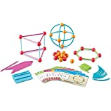 Dive into Shapes! (TM) A 'Sea' and Build Geometry Set Insert and join toys! Make 2D & 3D figures!