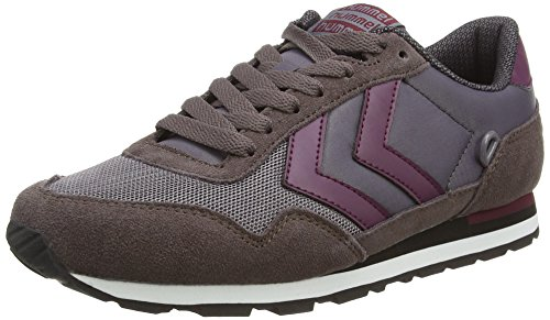 Hummel Hummel Reflex Lo, Baskets Basses mixte adulte Gris - Grau (Shark 2301)