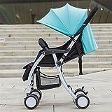 Fashion, leicht, tragbar, zusammenklappbar, abnehmbar und waschbar Buggy mit Schirm für Kinder zum...