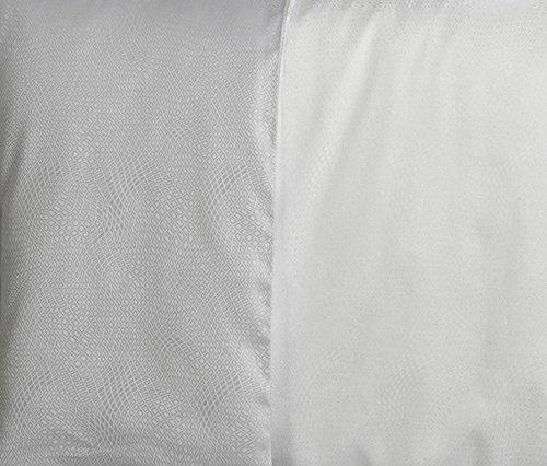 Curt Bauer Mako Brokat Damast Bettwäsche Gwen Größe 140×200+70×90 cm Farbe 0124 Traube