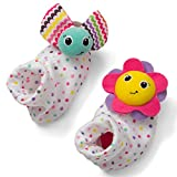 Best Infantino Toys For Newborns - Infantino Foot Rattles, Flower and Rainbow Bug Review