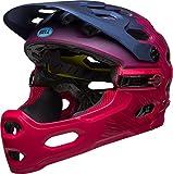 BELL Super 3R MIPS Helm, Matt Black/White, Medium/55-59 cm