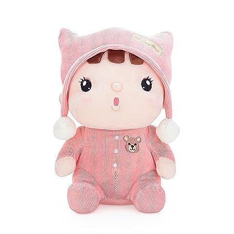 BELK Schmusen Plüschtier gefüllte Puppe Bettseite Schlaf Spielzeug Pal nette Plüsch Begleiter für kleines Baby Beatrix der Rosa