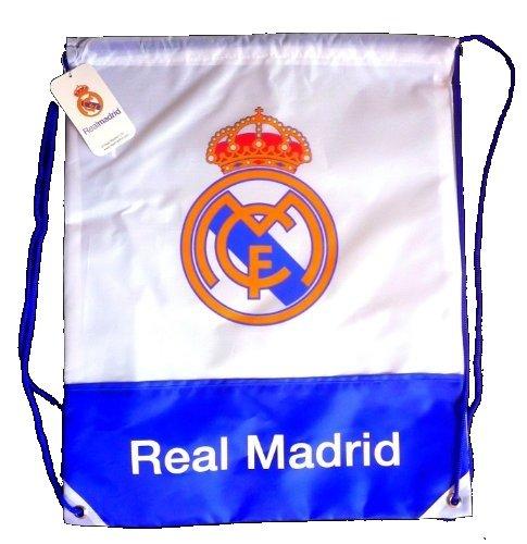 Offiziell Lizensierte ORIGINAL FC Real Madrid Gymsack / Gym Sack / Gymbag...