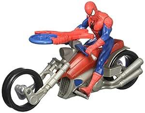 Hasbro B5760 Agent Venom con Moto Ultimate Spider Man Vs Sinister 6