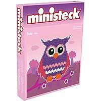 Ministeck 32.480,3 - Gufo viola, patch panel, pietre e accessori